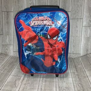 """Spider-Man 15"""" Collapsible Wheeled Pilot Suitcase"""